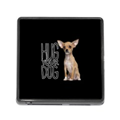 Chihuahua Memory Card Reader (square) by Valentinaart