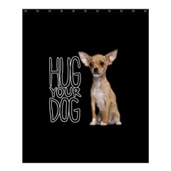 Chihuahua Shower Curtain 60  X 72  (medium)  by Valentinaart