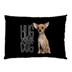 Chihuahua Pillow Case (two Sides) by Valentinaart