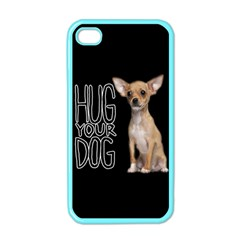 Chihuahua Apple Iphone 4 Case (color) by Valentinaart