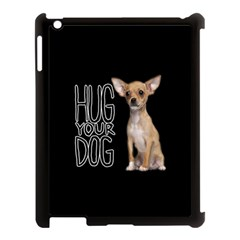Chihuahua Apple Ipad 3/4 Case (black) by Valentinaart