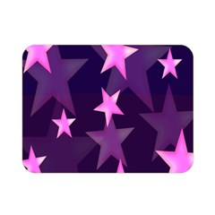 Background With A Stars Double Sided Flano Blanket (mini)  by Nexatart