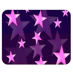 Background With A Stars Double Sided Flano Blanket (medium)  by Nexatart