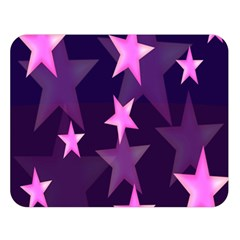 Background With A Stars Double Sided Flano Blanket (large)