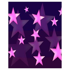 Background With A Stars Drawstring Bag (small)