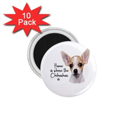Chihuahua 1 75  Magnets (10 Pack)  by Valentinaart