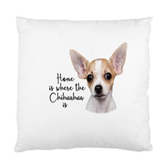Chihuahua Standard Cushion Case (one Side) by Valentinaart
