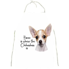 Chihuahua Full Print Aprons by Valentinaart