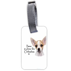 Chihuahua Luggage Tags (two Sides) by Valentinaart