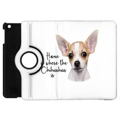 Chihuahua Apple Ipad Mini Flip 360 Case by Valentinaart