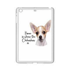 Chihuahua Ipad Mini 2 Enamel Coated Cases by Valentinaart