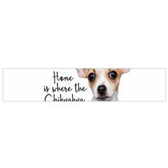 Chihuahua Flano Scarf (small) by Valentinaart