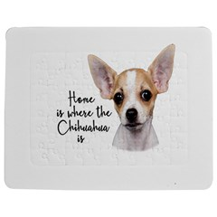 Chihuahua Jigsaw Puzzle Photo Stand (rectangular) by Valentinaart