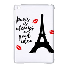 Paris Apple Ipad Mini Hardshell Case (compatible With Smart Cover) by Valentinaart