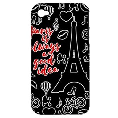 Paris Apple Iphone 4/4s Hardshell Case (pc+silicone) by Valentinaart