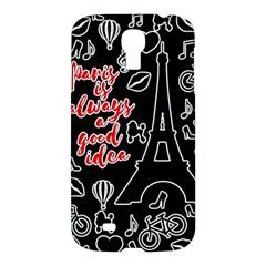 Paris Samsung Galaxy S4 I9500/i9505 Hardshell Case by Valentinaart