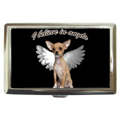 Angel Chihuahua Cigarette Money Cases by Valentinaart