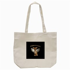 Angel Chihuahua Tote Bag (cream) by Valentinaart