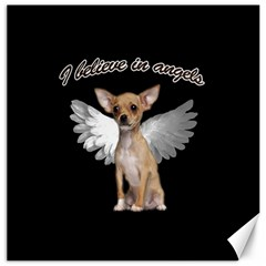 Angel Chihuahua Canvas 20  X 20   by Valentinaart