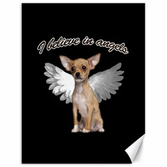 Angel Chihuahua Canvas 18  X 24   by Valentinaart