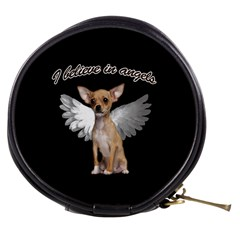 Angel Chihuahua Mini Makeup Bags by Valentinaart