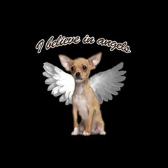 Angel Chihuahua Magic Photo Cubes by Valentinaart