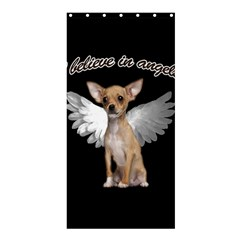 Angel Chihuahua Shower Curtain 36  X 72  (stall)  by Valentinaart