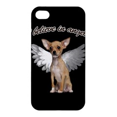 Angel Chihuahua Apple Iphone 4/4s Hardshell Case by Valentinaart