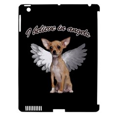 Angel Chihuahua Apple Ipad 3/4 Hardshell Case (compatible With Smart Cover) by Valentinaart