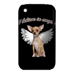 Angel Chihuahua Iphone 3s/3gs by Valentinaart