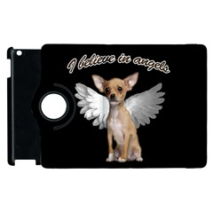 Angel Chihuahua Apple Ipad 3/4 Flip 360 Case by Valentinaart