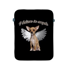 Angel Chihuahua Apple Ipad 2/3/4 Protective Soft Cases by Valentinaart