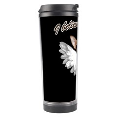 Angel Chihuahua Travel Tumbler by Valentinaart