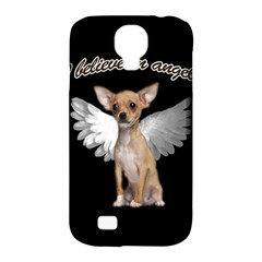 Angel Chihuahua Samsung Galaxy S4 Classic Hardshell Case (pc+silicone) by Valentinaart