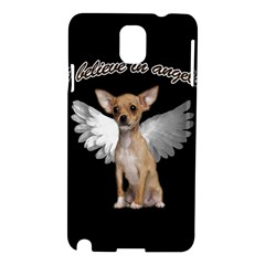 Angel Chihuahua Samsung Galaxy Note 3 N9005 Hardshell Case by Valentinaart