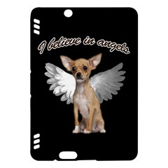 Angel Chihuahua Kindle Fire Hdx Hardshell Case by Valentinaart