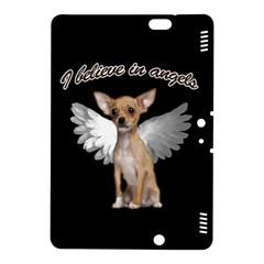 Angel Chihuahua Kindle Fire Hdx 8 9  Hardshell Case by Valentinaart