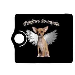 Angel Chihuahua Kindle Fire Hdx 8 9  Flip 360 Case by Valentinaart