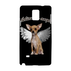 Angel Chihuahua Samsung Galaxy Note 4 Hardshell Case by Valentinaart
