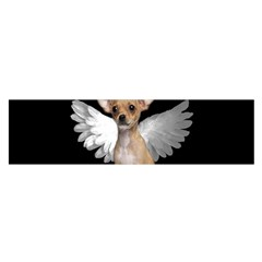 Angel Chihuahua Satin Scarf (oblong) by Valentinaart