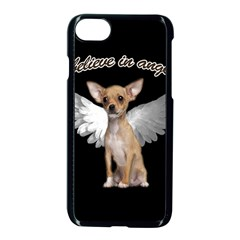 Angel Chihuahua Apple Iphone 7 Seamless Case (black) by Valentinaart