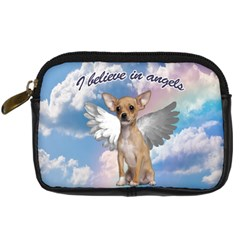 Angel Chihuahua Digital Camera Cases by Valentinaart
