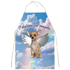Angel Chihuahua Full Print Aprons by Valentinaart