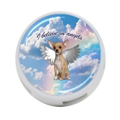 Angel Chihuahua 4 Port Usb Hub (one Side) by Valentinaart