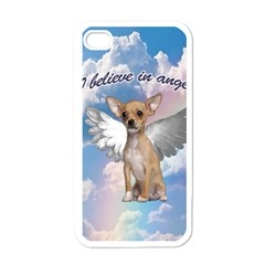 Angel Chihuahua Apple Iphone 4 Case (white) by Valentinaart