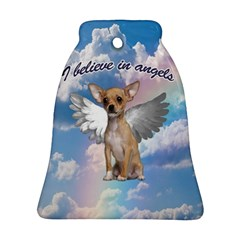 Angel Chihuahua Ornament (bell) by Valentinaart