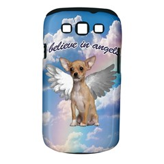 Angel Chihuahua Samsung Galaxy S Iii Classic Hardshell Case (pc+silicone) by Valentinaart