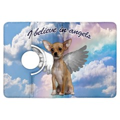 Angel Chihuahua Kindle Fire Hdx Flip 360 Case by Valentinaart