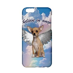 Angel Chihuahua Apple Iphone 6/6s Hardshell Case by Valentinaart