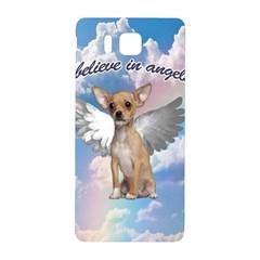 Angel Chihuahua Samsung Galaxy Alpha Hardshell Back Case by Valentinaart